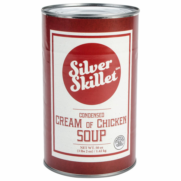 Silver Skillet 550EE 50 oz. Cream of Chicken Soup - 12/Case