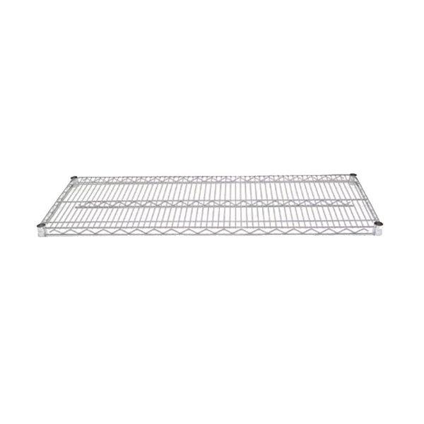 Advance Tabco EC-1448 14 inch x 48 inch Chrome Wire Shelf