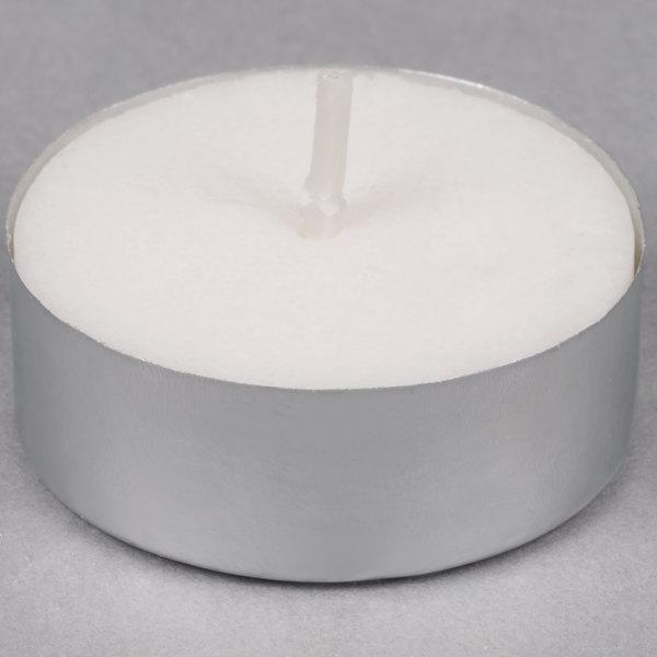 Sterno Products 5 Hour Saf-T-Lite Votive / Tea Light Candle - 50/Pack