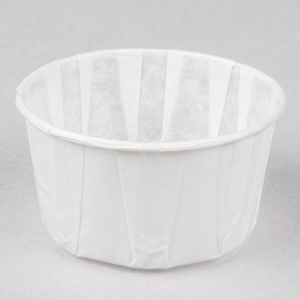 Genpak F400 4 oz. Harvest Paper Souffle / Portion Cup - 250/Pack
