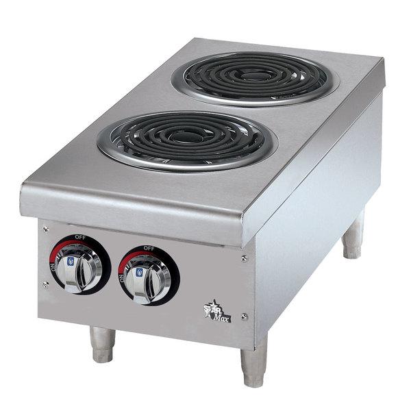 Countertop Stove Wiring : Star Max 502CF 2 Burner Countertop Range with Coil Burners