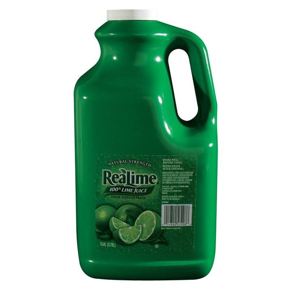 ReaLime 100% Lime Juice - 1 Gallon Bottle