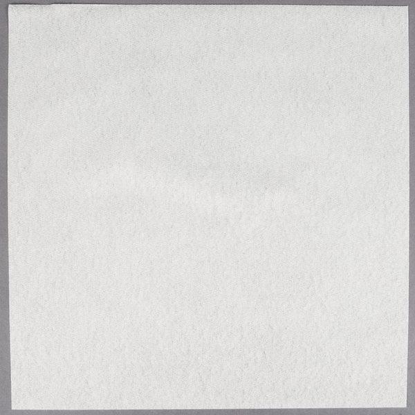 Hoffmaster 125043 Flat Pack 14 1/2 inch x 14 1/2 inch White Linen-Like Dinner Napkin - 1000/Case
