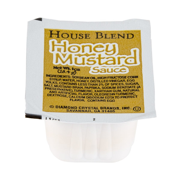 Honey Mustard Sauce 1 oz. Portion Cup 100/Case