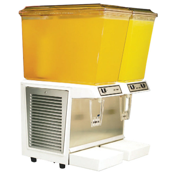 IMI Cornelius Jet Spray JT20 Double 5 Gallon Bowl Refrigerated Beverage Dispenser