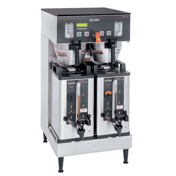Bunn 27900.0042 Dual Soft Heat Brewer with Lower Faucet - 120/240V, 6800W