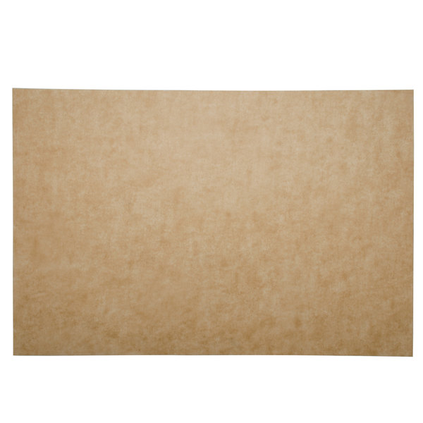 Bagcraft Papercon 030010 EcoCraft Bake 'N' Reuse 16 inch x 24 inch Full Size Parchment Paper Pan Liner - 50/Pack