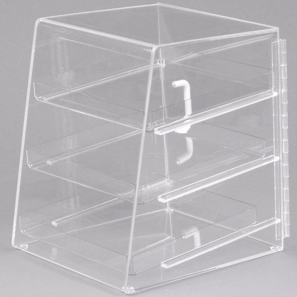 Cal-Mil P257 Classic Three Tier Acrylic Display Case - 10 inch x 15 inch x 13 1/2 inch