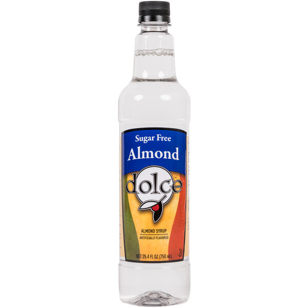 Dolce Almond Sugar Free Coffee Flavoring Syrup