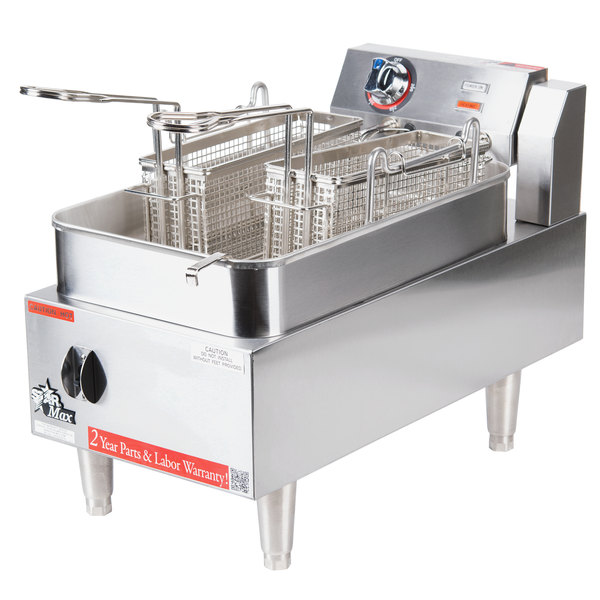 Star Max 515EF 15 lb. Commercial Countertop Deep Fryer 208/240V