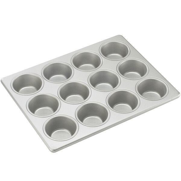 Cal-Mil 1101 12 Section Muffin Pan for Bamboo Muffin Displays