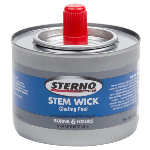 Sterno Products 10102 Stem Wick Chafing Fuel - 24/Case