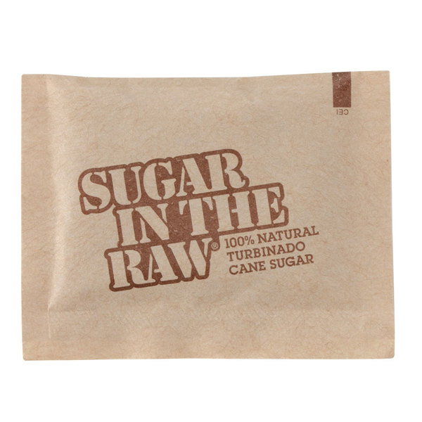 Sugar In The Raw 5 Gram Packets 1200/Case - 1200/Case