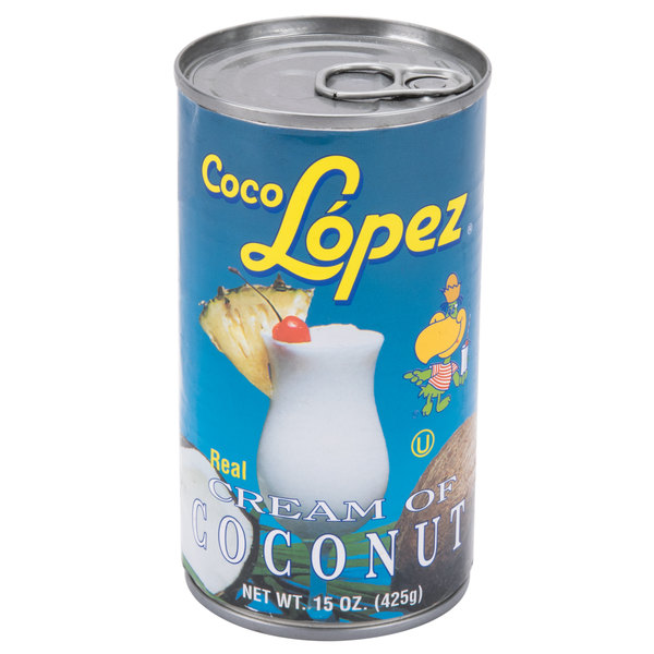 Coco Lopez Cream of Coconut 15 oz.