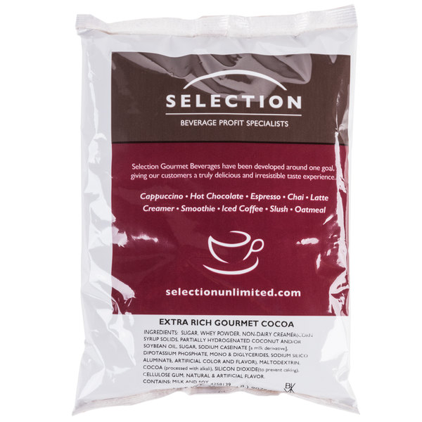Gourmet Hot Chocolate / Cocoa Mix  - 6/Case