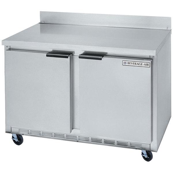 Beverage Air WTR48A 48 inch Worktop Refrigerator - 2 Doors