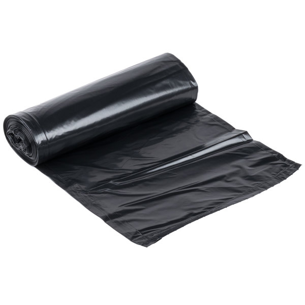 Li'l Herc Repro Trash Bag 55-60 Gallon 1.5 Mil 38 inch x 58 inch Low Density Can Liner - 100 / Case