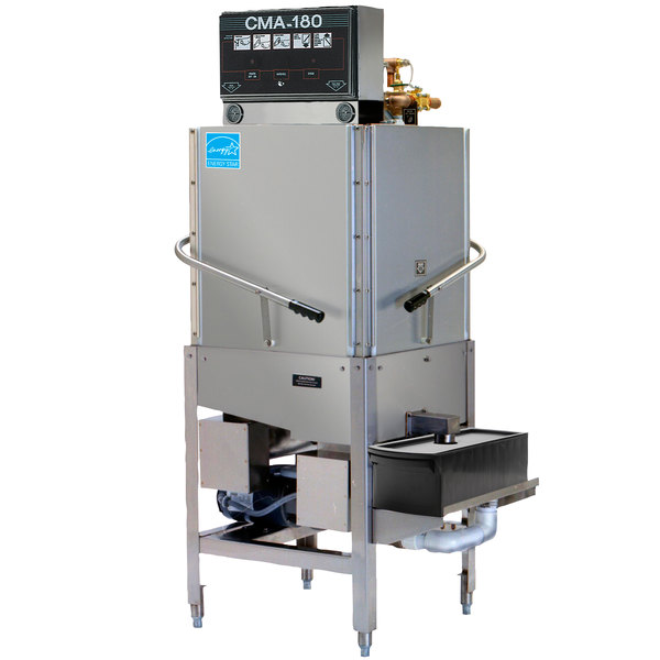 CMA Dishmachines CMA-180C Single Rack High Temperature Corner Dishwasher