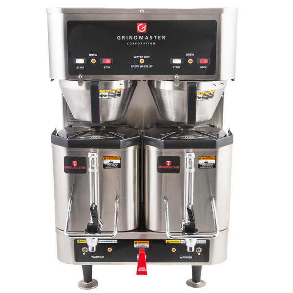 Grindmaster P400E 1.5 Gallon Twin Shuttle Coffee Brewer