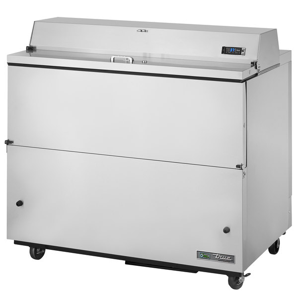 True TMC-49-S 49 inch Stainless Steel One Sided Milk Cooler