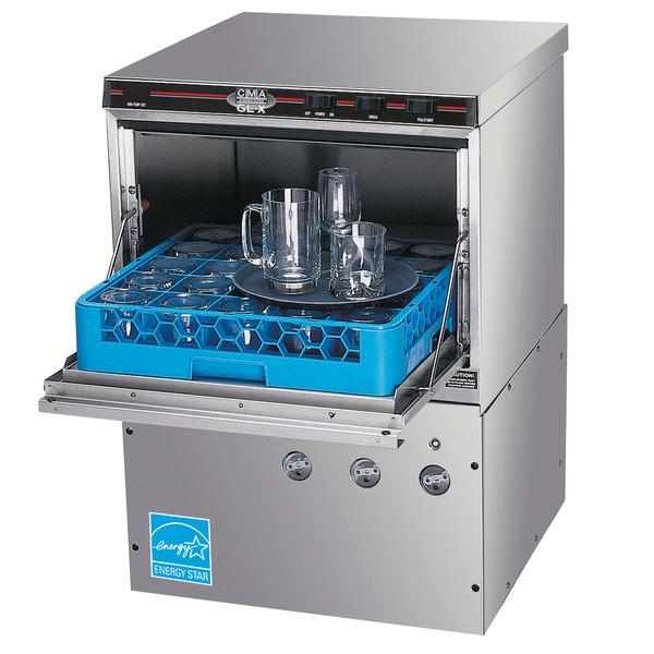 CMA Dishmachines GL-X Low Temperature Undercounter Glass Washer - 115V