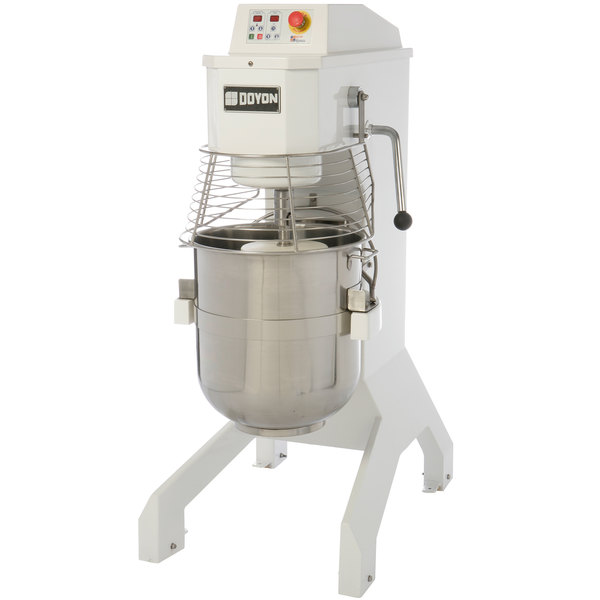 Doyon BTF010 10 Qt. Commercial Planetary Stand Mixer with Guard - 120V, 1/2 hp