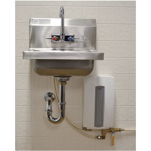 Instant Water Heater Sink : Advance tabco ps tankless electric water heater for