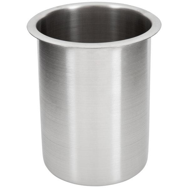 Vollrath 78710 1.25 Qt. Stainless Steel Bain Marie Pot