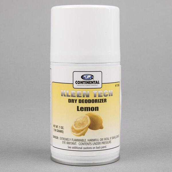Continental 1186 Lemon Aerosol Air Freshener Refill