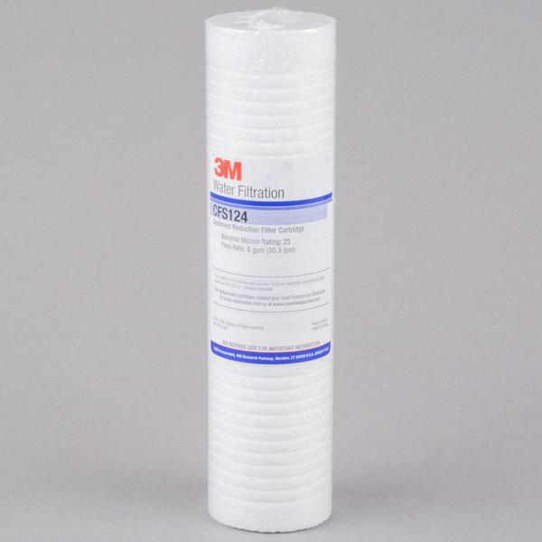 3M Cuno CFS124 9 3/4 inch Retrofit Coarse Sediment Reduction Drop In Cartridge - 25 micron and 6 GPM