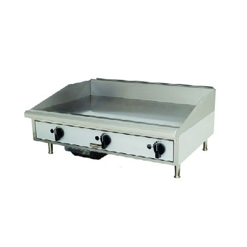 Toastmaster TMGM48 48 inch Gas Countertop Griddle - Manual Controls