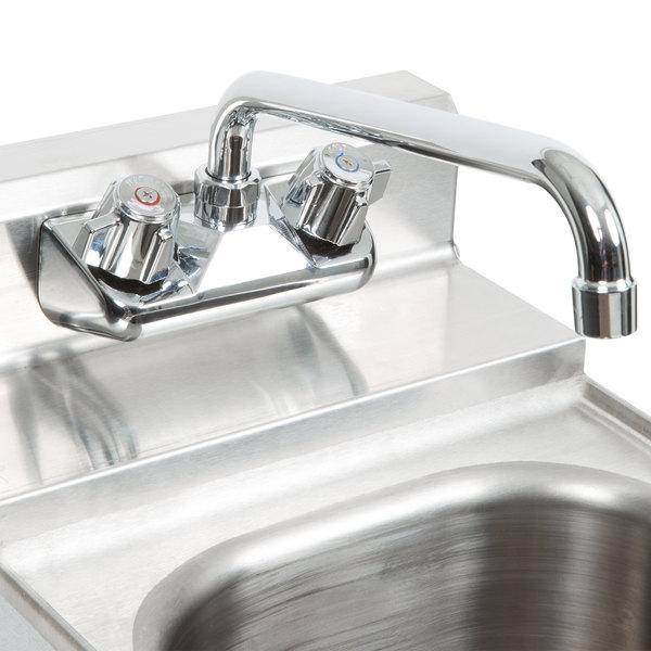 Low Lead Wall Mount Faucet Chrome Bar Sink 4 Inch Center 10 Inch Swing Spout Ebay