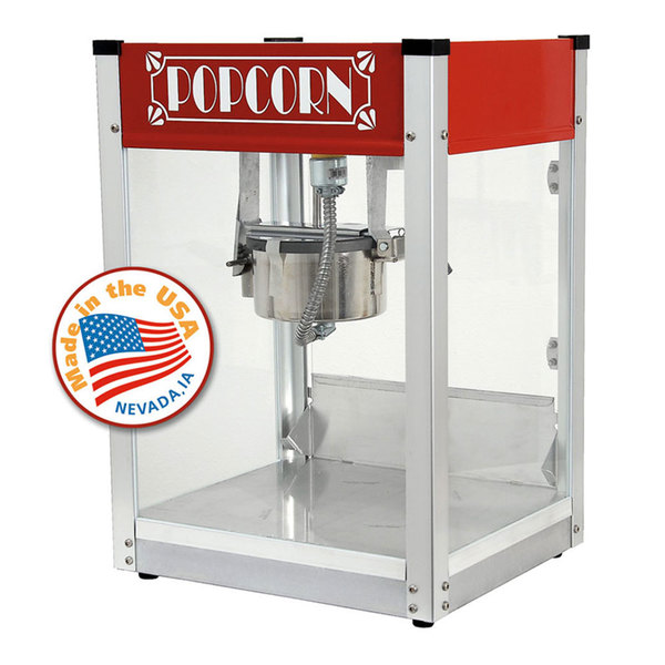 Paragon 1104530 Red Gatsby 4 oz. Popcorn Machine