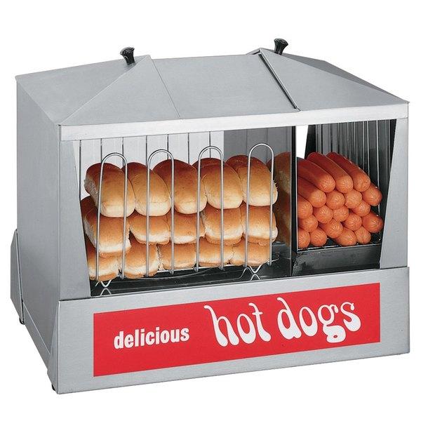Star 35SSC Hot Dog Steamer 130 Dog - 120V, 1000W