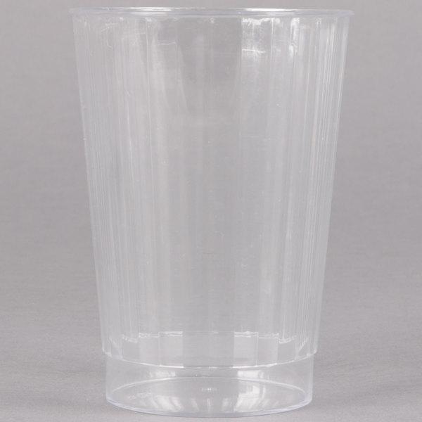 Fineline Renaissance 2412 12 oz. Clear Hard Plastic Crystal Tumbler - 240/Case