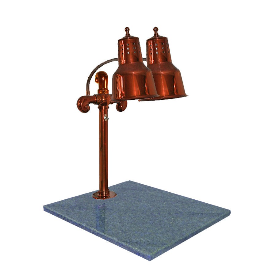 Hanson heat lamps dlm gb sc dual lamp quot smoked