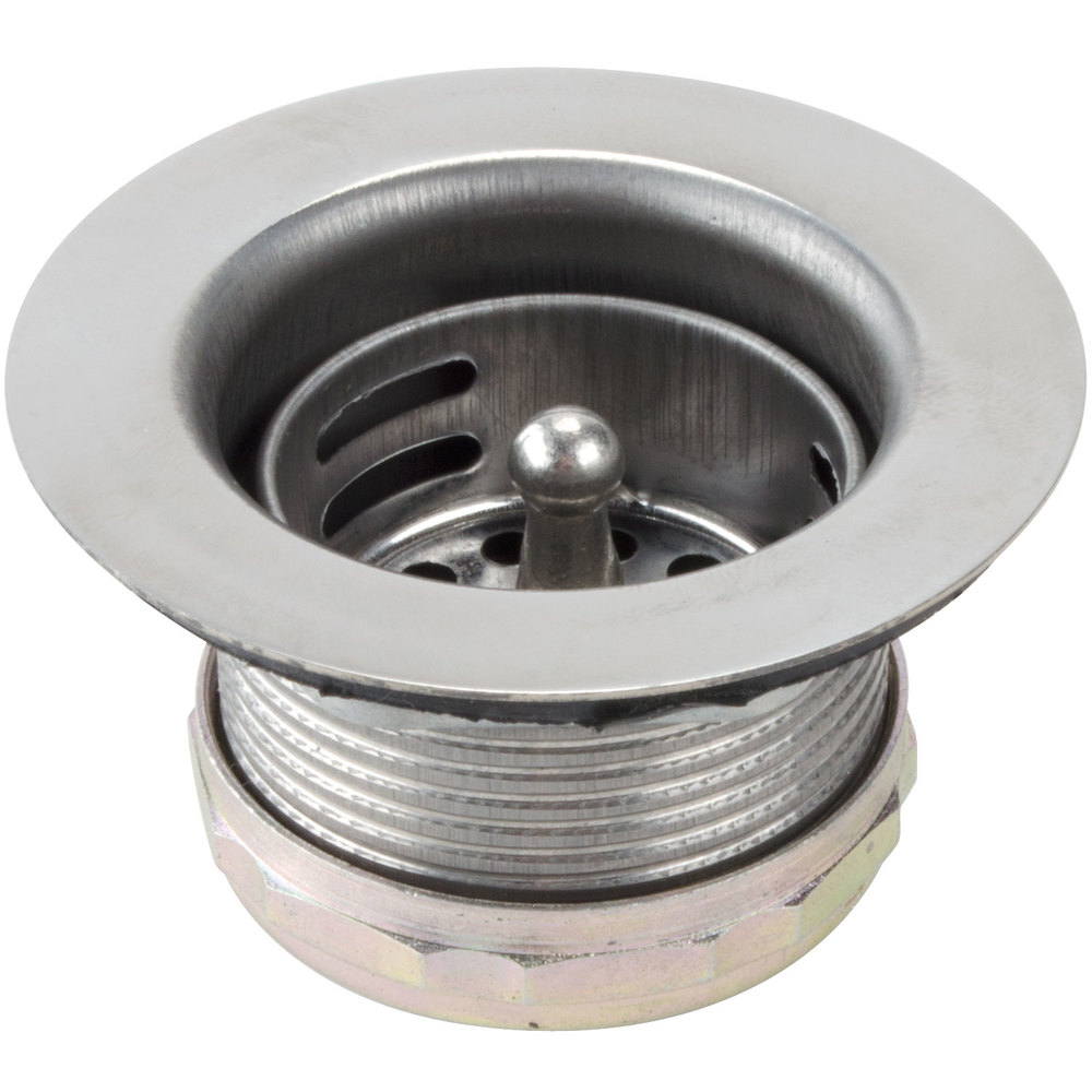 Sink Strainer : All Points 11-327 Stainless Steel Sink Strainer - 2 3/4