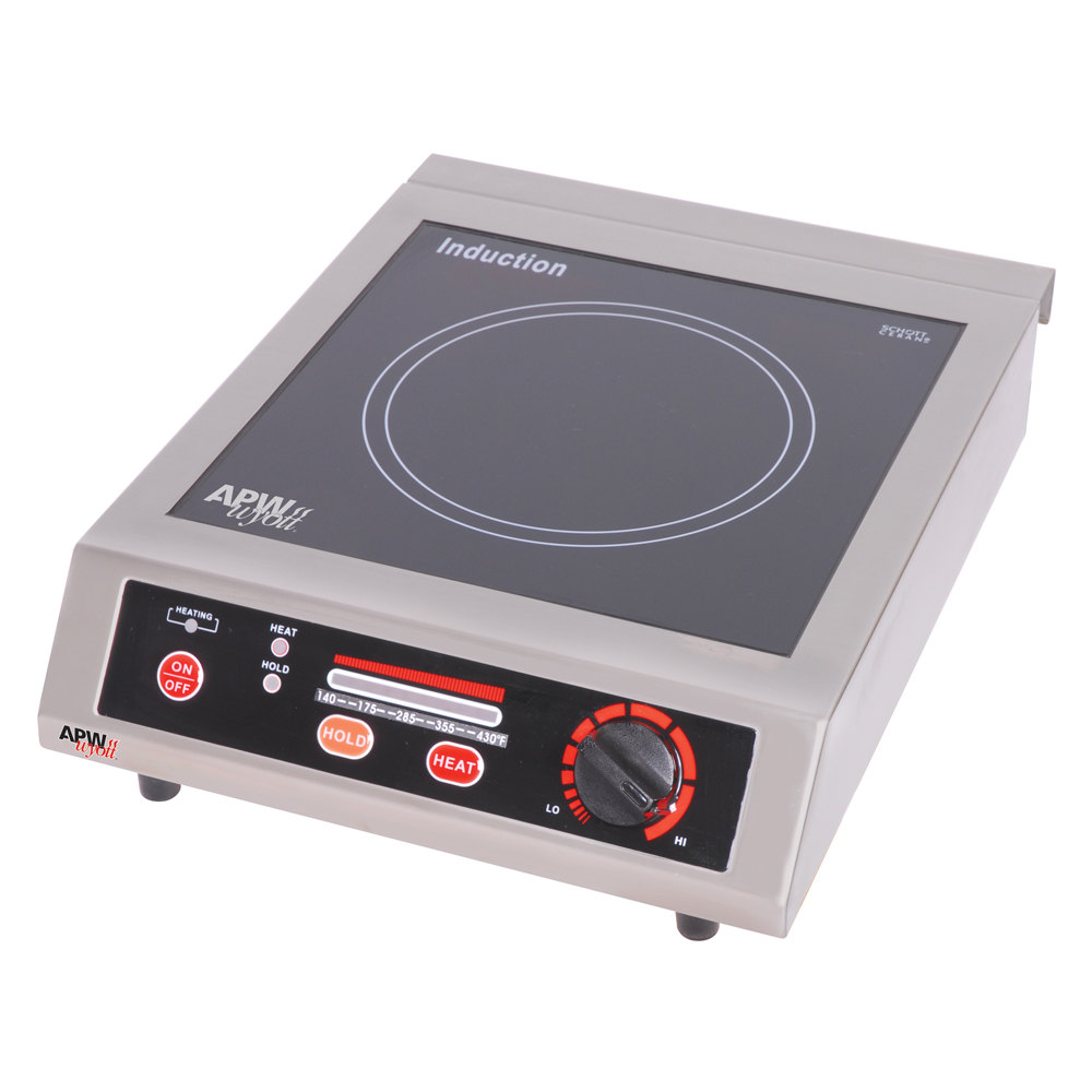 ... ICT-18A Champion Countertop Induction Saute Hot Plate Cooker - 1800W