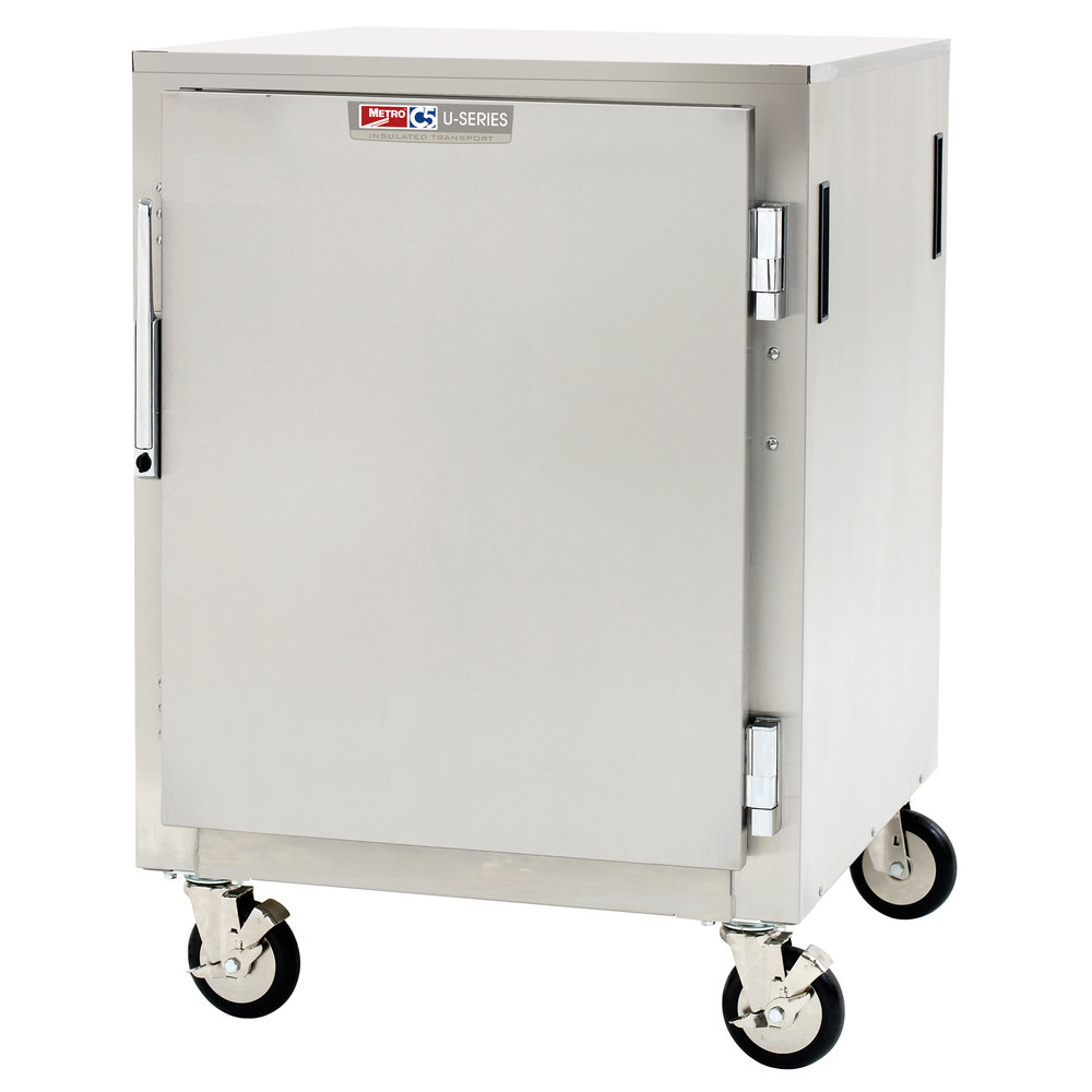 Metro Storage Cabinet : Metro c u nu half size insulated aluminum hot cold