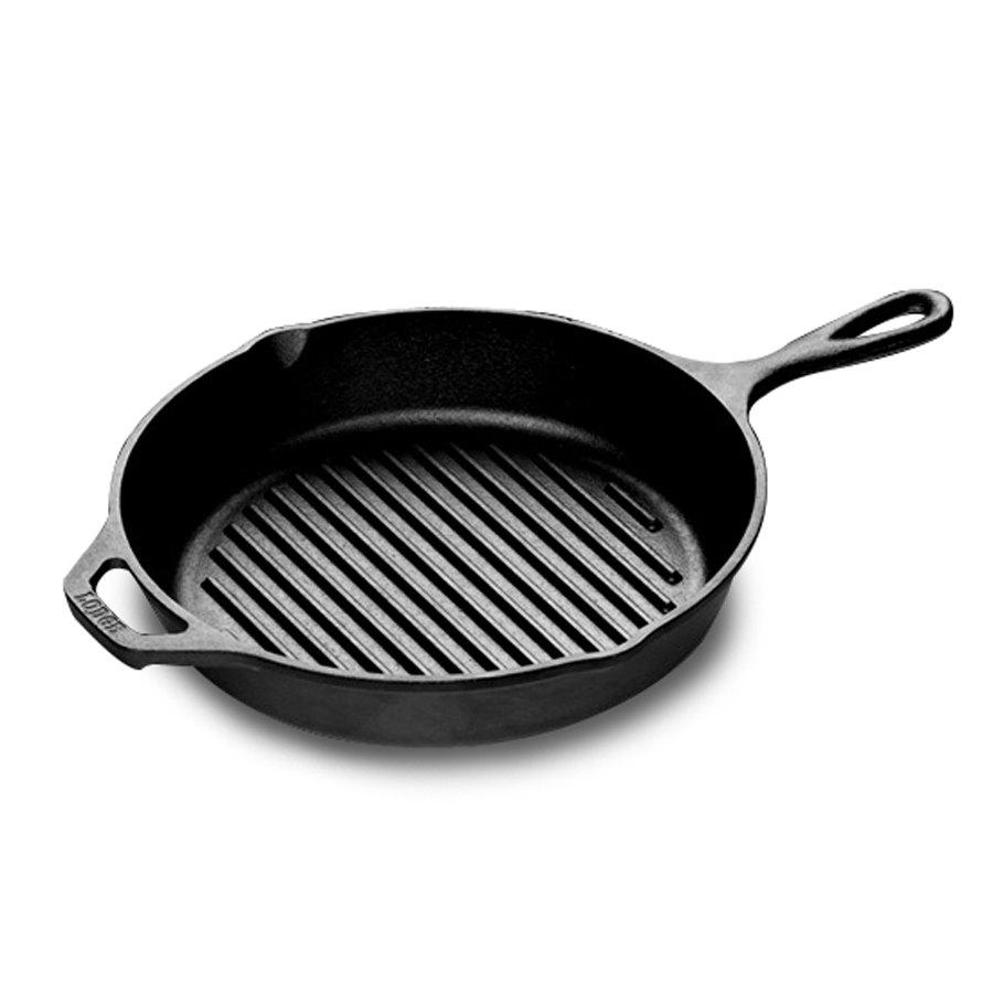 lodge l8gp3 10 1 4 pre seasoned cast iron grill pan. Black Bedroom Furniture Sets. Home Design Ideas