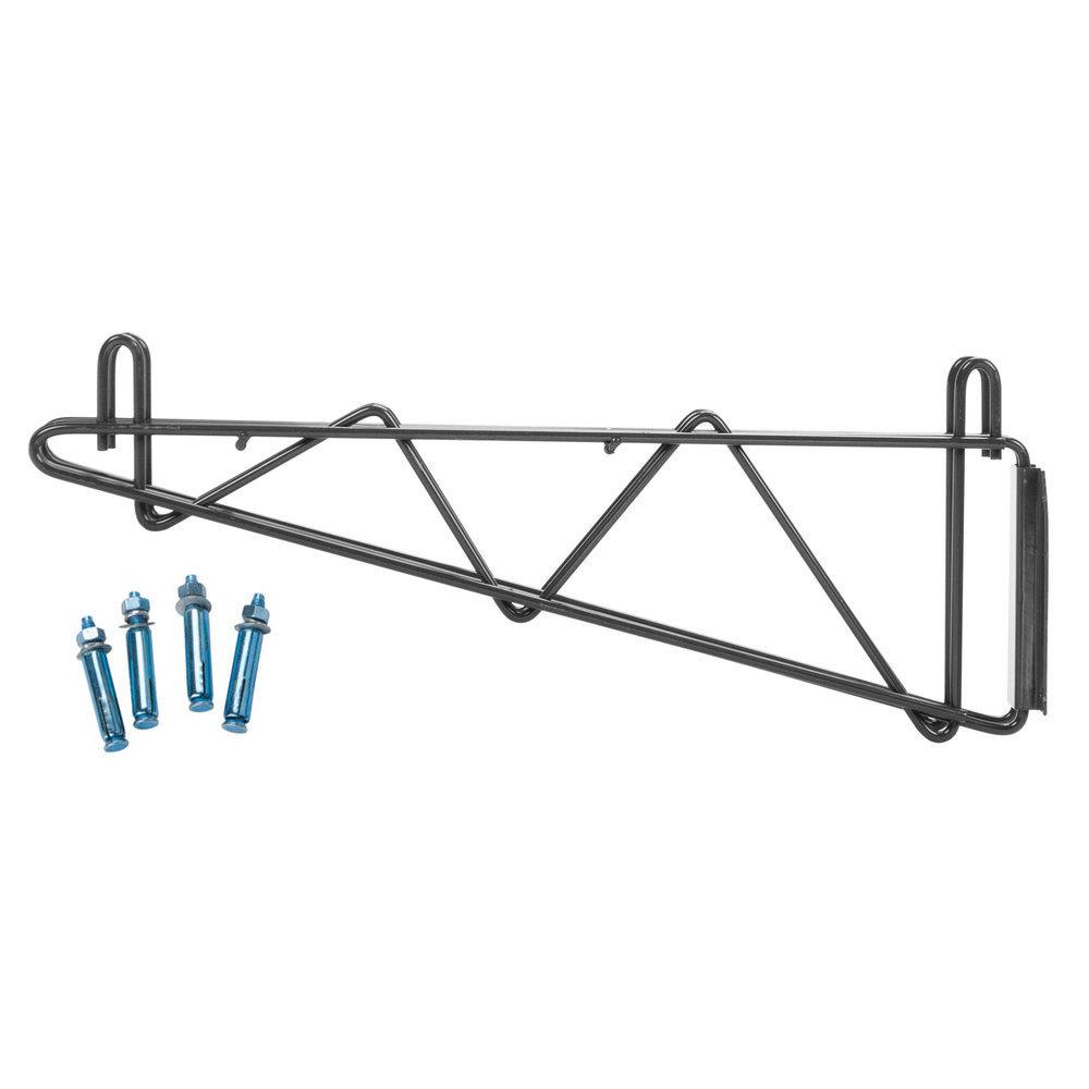 regency 18 u0026quot  deep double wall mounting bracket for