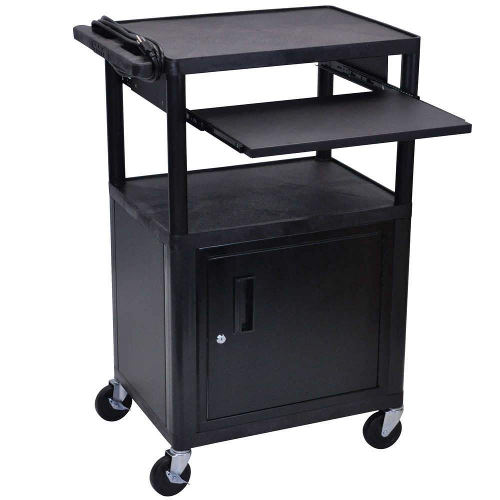 Luxor Cart With Locking Cabinet