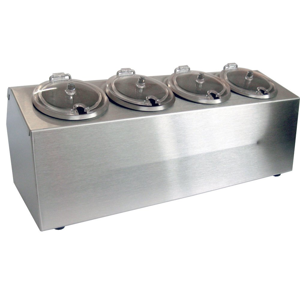 4 Compartment Food Storage Containers