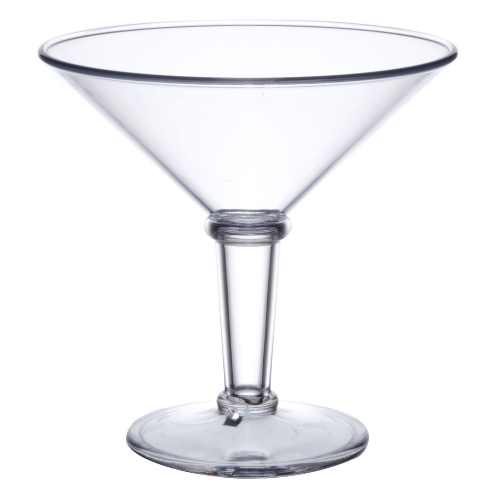 get sw 1419 cl sw1419 48 oz san plastic super martini glass. Black Bedroom Furniture Sets. Home Design Ideas