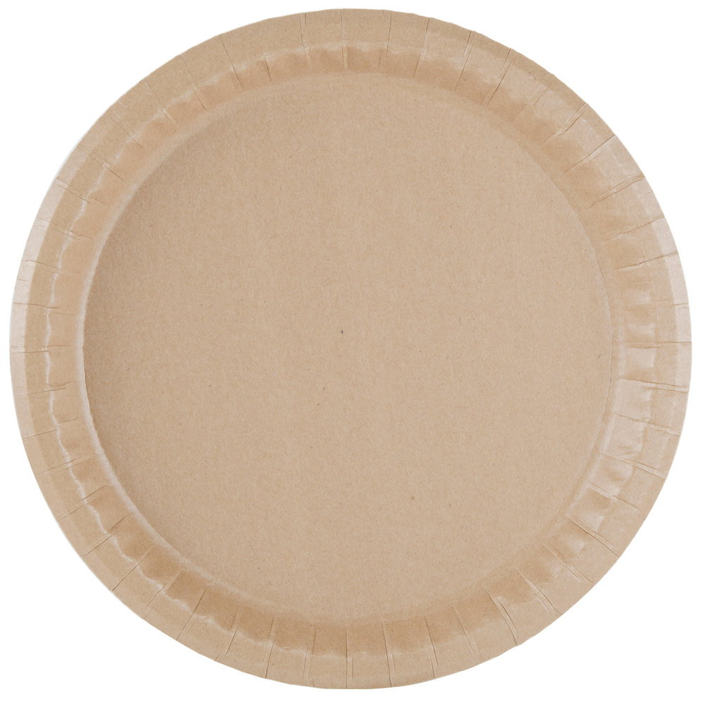 Arrange a festive table setting for brunch or dinner with these paper plates from up & up. Featuring a colorful border and heavy-duty construction, these plates are perfect for serving meals at large parties and casual events.