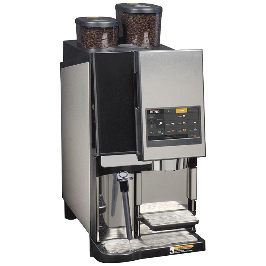 Steam Press Coffee Maker : Bunn 43400.0000 Espress Sure Tamp Steam 2-Step Super Automatic 0.5L Espresso Machine