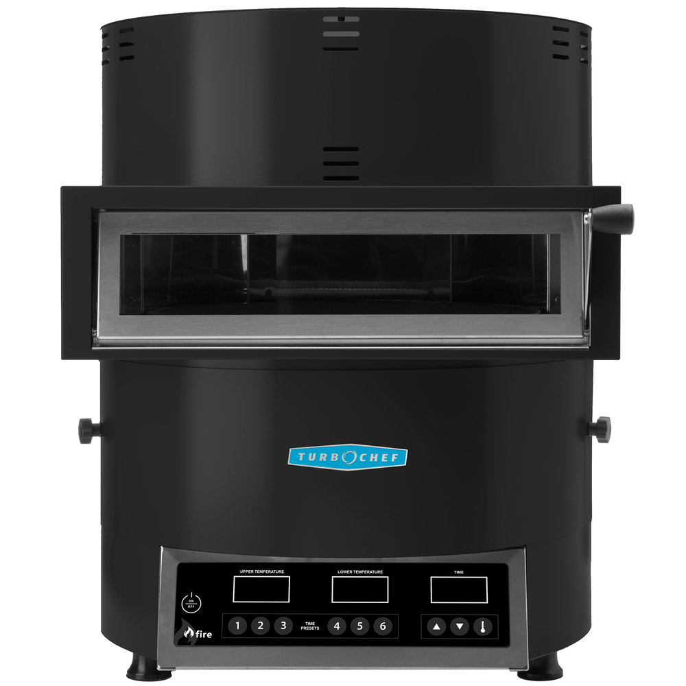 Best Commercial Countertop Pizza Oven : Turbochef Fire FRE-9500-5 Black Countertop Pizza Oven