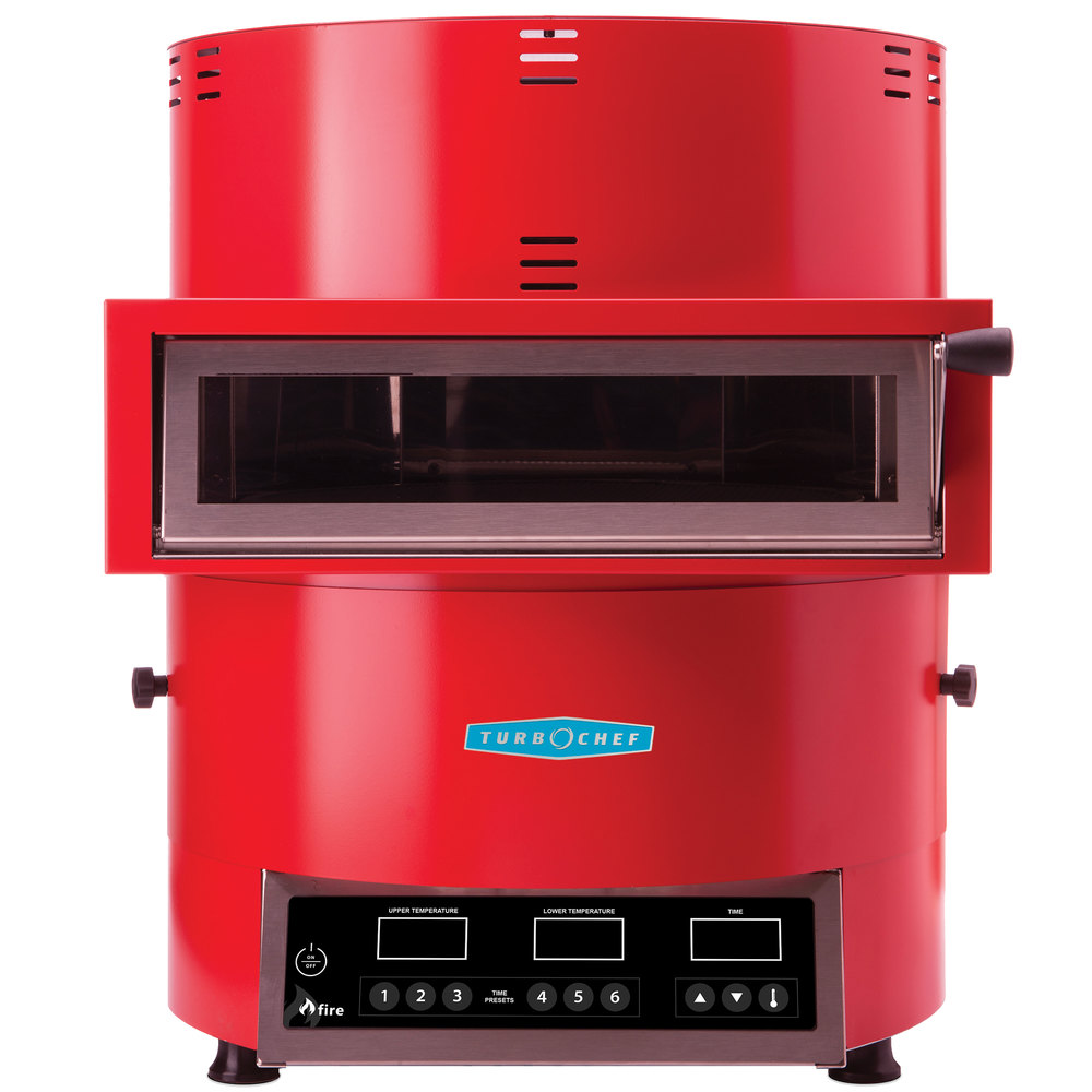 Best Commercial Countertop Pizza Oven : Turbochef Fire FRE-9500-1 Red Countertop Pizza Oven