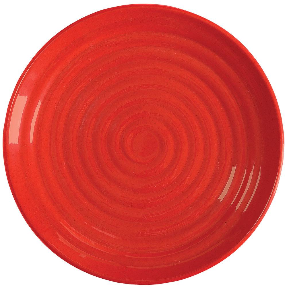 Get Ml 83 Rsp Milano 12 1 2quot Red Sensation Melamine Round  sc 1 st  Castrophotos & Red Melamine Plates - Castrophotos