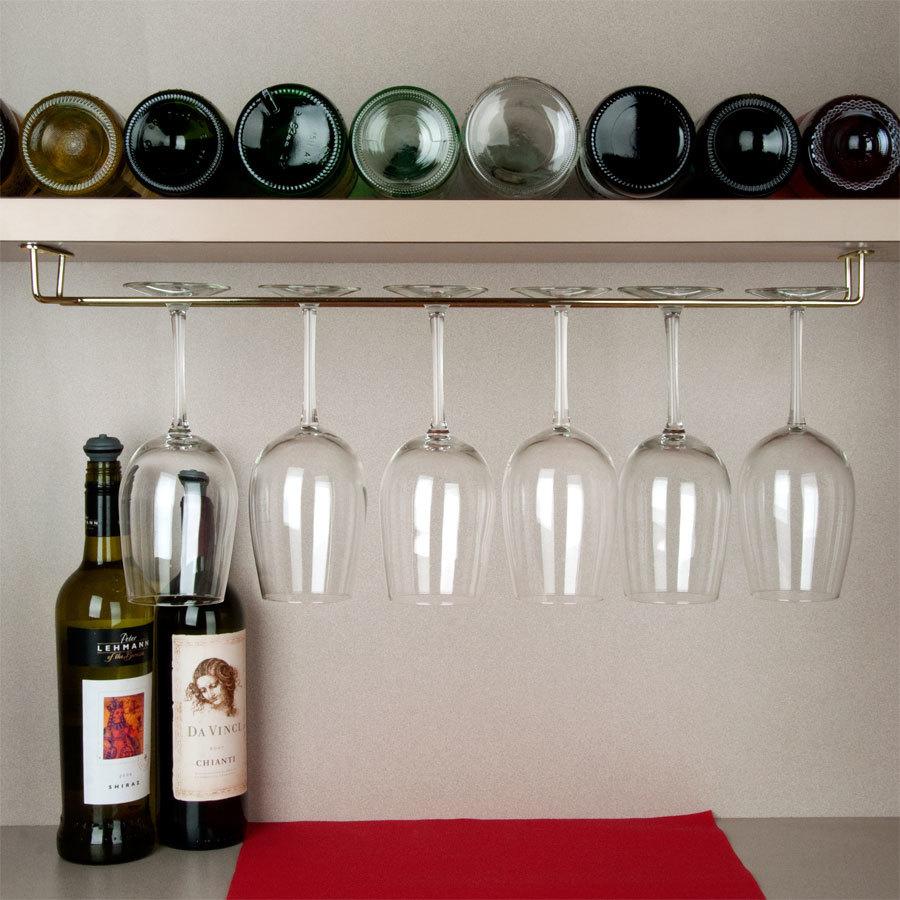 glass racks for bar